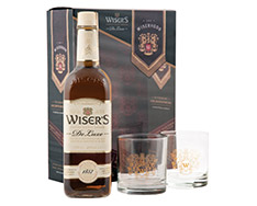 WISER'S DELUXE WITH GLASSES GIFT PACK