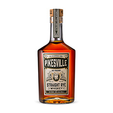 PIKESVILLE STRAIGHT RYE WHISKEY 6 YEAR OLD