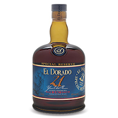 EL DORADO 21 YEARS OLD RUM