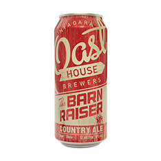 NIAGARA OAST HOUSE THE BARNRAISER COUNTRY ALE