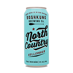 BOSHKUNG NORTH COUNTRY KELLERBIER