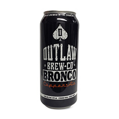 OUTLAW BREW CO BRONCO COPPER ALE