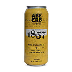 ABE ERB KOLSCH STYLE LAGERED ALE