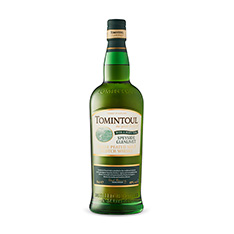 TOMINTOUL SPEYSIDE GLENLIVET SINGLE MALT PEATY TAN