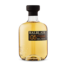 BALBLAIR 2005 HIGHLAND SINGLE MALT SCOTCH WHISKY