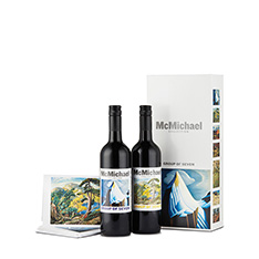 MCMICHAEL COLLECTION GIFT BOX (2 X 750 ML) WITH CARDS