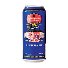 FORGOTTEN LAKE BLUEBERRY ALE