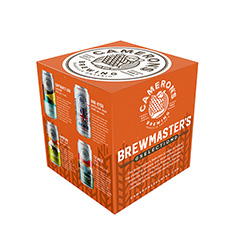 CAMERON'S BREWMASTER'S SELECTION 4 PACK; IN 473ML TALL CANS