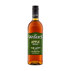 J.P. WISER'S APPLE WHISKY