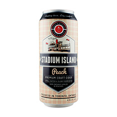 BRICKWORKS STADIUM ISLAND PEACH CIDER