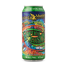 FLYING MONKEYS HOPTICAL ILLUSION