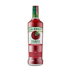 SMIRNOFF SOURCED CRANBERRY APPLE