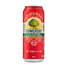 SOMERSBY RED RHUBARB