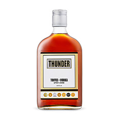 THUNDER ENGLISH TOFFEE & VODKA SPIRIT DRINK