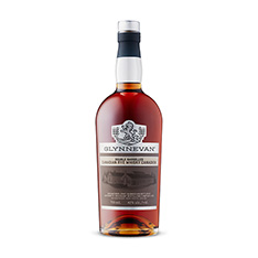 GLYNNEVAN DOUBLE BARRELLED CANADIAN RYE WHISKY