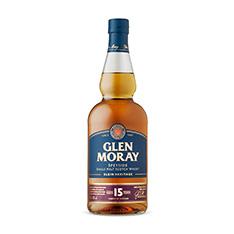 GLEN MORAY 15 YO SINGLE MALT SCOTCH