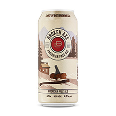 LAKE OF BAYS BREWING BROKEN AXE APA +