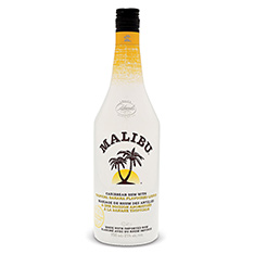 MALIBU TROPICAL BANANA RUM LIQUOR