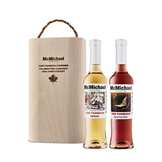 MCMICHAEL COLLECTION TOM THOMSON CABERNET FRANC ICEWINE & VIDAL ICEWINE GIFT PACK 2015