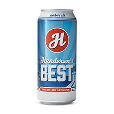 HENDERSON'S BREWING CO. HENDERSON'S BEST +