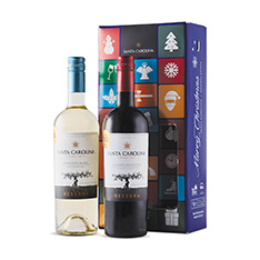 SANTA CAROLINA RESERVA DUO GIFT PACK