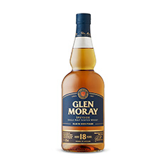 GLEN MORAY 18 YO SINGLE MALT WHISKY