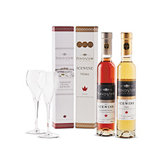 PONDVIEW ICEWINE DUO WITH GLASSES