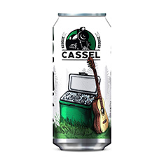 CASSEL BREWERY CASSEL FRANCO LAGER ARTISANALE
