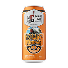 GRAND RIVER BREWING HIGHBALLER PUMPKIN ALE