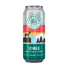 CAMERON'S 12 MILE LAGER