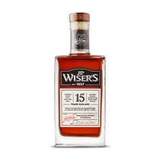 J.P. WISER'S 15 YO CANADIAN WHISKY
