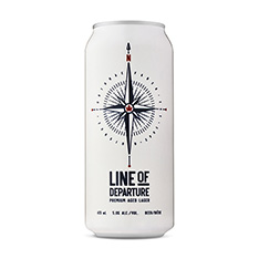 LOD BREWING LINE OF DEPARTURE AGED LAGER
