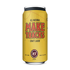 THE RED THREAD BREWING CO MAKE TRACKS CRAFT LAGER