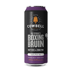 COWBELL DOC PERDUE'S BOXING BRUIN