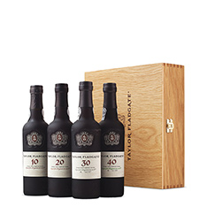 TAYLOR FLADGATE CENTURY OF PORT COLLECTION 10, 20, 30 & 40 YEARS OLD