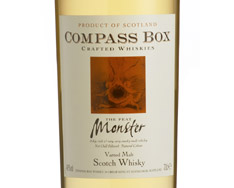 COMPASS BOX THE PEAT MONSTER VATTED MALT SCOTCH WHISKY