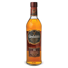GLENFIDDICH SINGLE MALT 15 YEARS OLD SCOTCH WHISKY