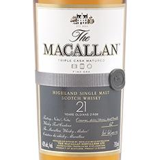 THE MACALLAN FINE OAK 21 YEARS OLD HIGHLAND SINGLE MALT