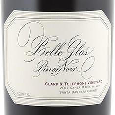 BELLE GLOS CLARK & TELEPHONE VINEYARD PINOT NOIR 2015