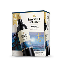 SAWMILL CREEK MERLOT BAG IN BOX