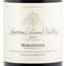 MORGENSTER LOURENS RIVER VALLEY 2011