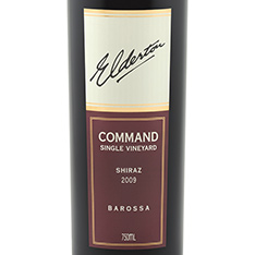 ELDERTON COMMAND SINGLE VINEYARD SHIRAZ 2014