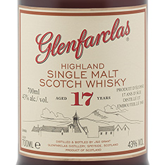 GLENFARCLAS 17 YEARS OLD HIGHLAND SINGLE MALT