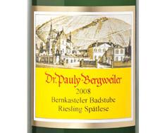 DR. PAULY-BERGWEILER BERNKASTELER BADSTUBE RIESLING SP�TLESE 2015