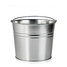 GALVANIZED BEER PAIL
