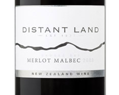 08MALBC MERLOT DISTANT LAND HAWKES BAY(LINCOLN