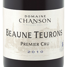 DOMAINE CHANSON BEAUNE TEURONS 1ER CRU 2013