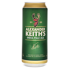 ALEXANDER KEITH'S INDIA PALE ALE