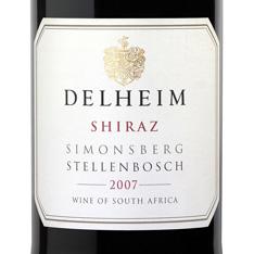 DELHEIM SHIRAZ 2015