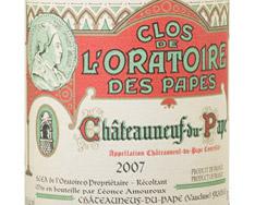 CLOS DE L'ORATOIRE DES PAPES CHÂTEAUNEUF-DU-PAPE 2014